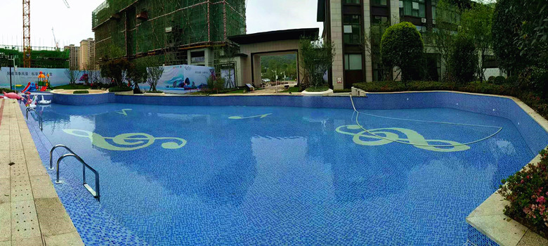 贵州铜仁剑桥jun室waijing观泳池项目