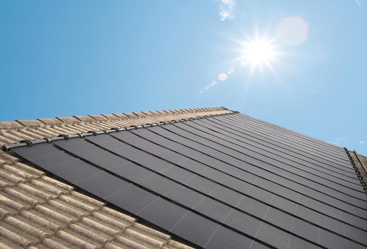 泳池太阳能加热系统