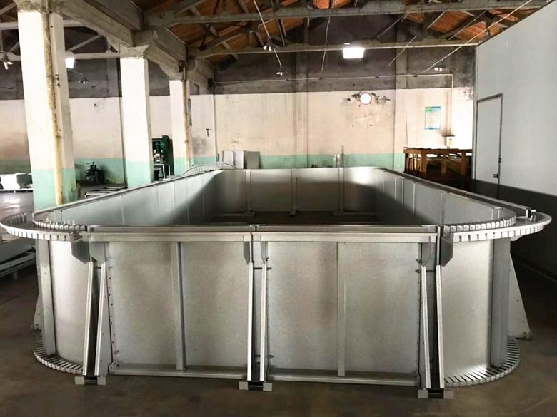 拼装式钢结构you泳池