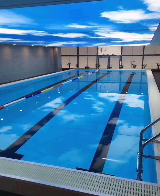 拼装式钢结构you泳池安装流程